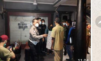 Kanit Lantas Polsek Medan Area Didampingi Sekcam Pimpin Apel PPKM Darurat Level 4