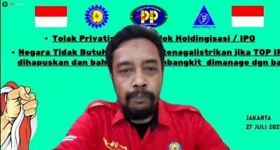 Tiga SP Ketenagalistrikan Tolak Holdingisasi, Ingatkan Ada Potensi Pelanggaran Konstitusi