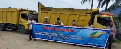 PTPN III Kebun Ambalutu Apresiasi Peran Serta RCW Asahan, Infrastruktur Jalan Nomal