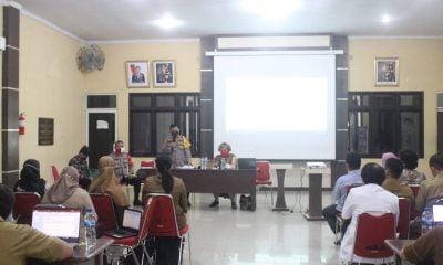 Kapolres Pimpin Evaluasi Tim Relawan Vaksinator Se-Kabupaten Sergai
