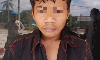 Pencuri Mesin Genset Masjid Nurul Iman Diciduk Polisi