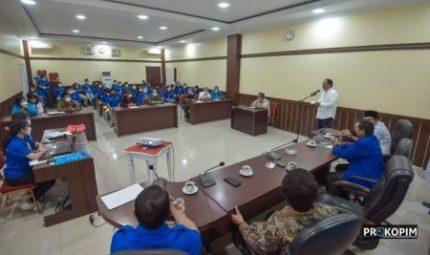 Walikota Sidimpuan Buka Pelatihan Kepemimpinan Pemuda Gereja