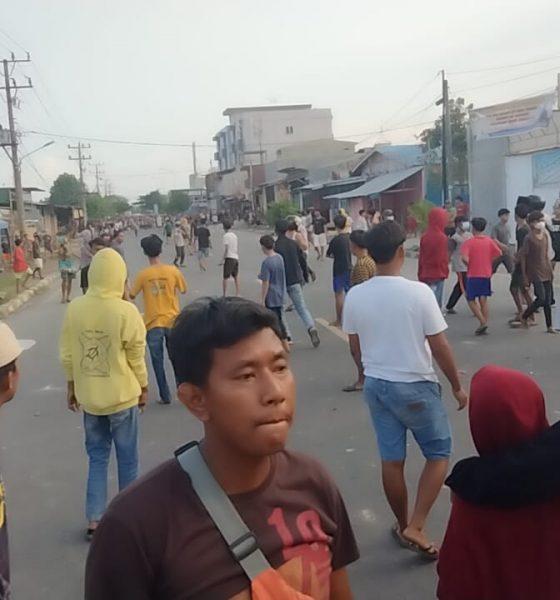 PJU Polres Pelabuhan Belawan di Barisan Depan Atasi Tawuran