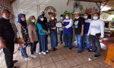 DPC Peradi Bersama PBH Deli Serdang Adakan Vaksinasi di Cafe Luak Canu