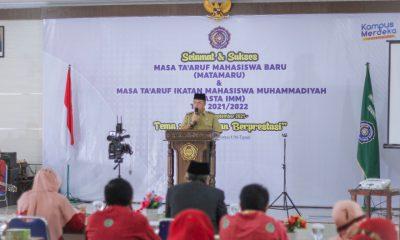 Wakil Walikota Sidimpuan Hadiri Masa Ta'aruf Mahasiswa UMTS