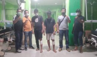 Tim Gabungan Unit Reskrim Polres Sergai Ungkap Kasus Curanmor, 2 Pelaku Ditembak