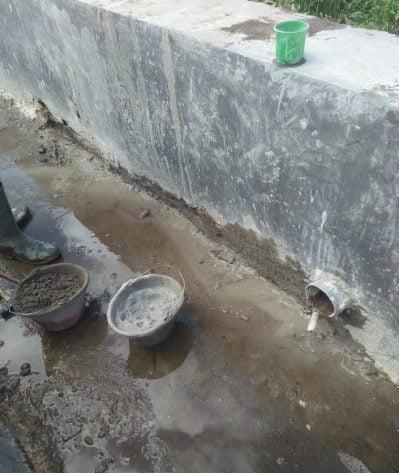 Kualitas Proyek Rehabilitasi Jaringan Irigasi di Sigohi Butuha di Ragukan