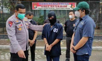 Polsek Medan Helvetia Tangkap Pencuri Mantan Residivis
