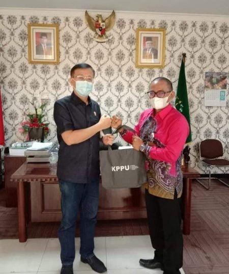 Ketua DPRD Kota Medan Terima Kunjungan dan Perkenalan Kepala KPPU Wilayah I Yang Baru