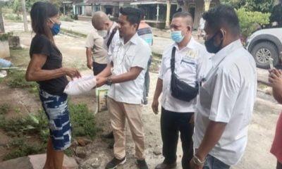Kadin Batu Bara Ajak Warga Desa Kampung Kelapa Ikut Vaksinasi